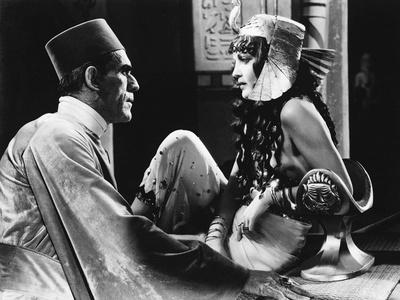 The Mummy, Boris Karloff, Zita Johann, 1932 Photo
