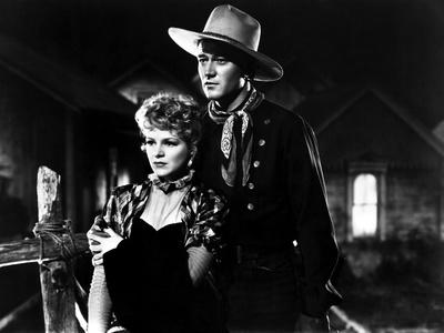 Stagecoach, Claire Trevor, John Wayne, 1939 Photo