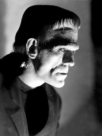 Frankenstein, Boris Karloff, 1931 Photo