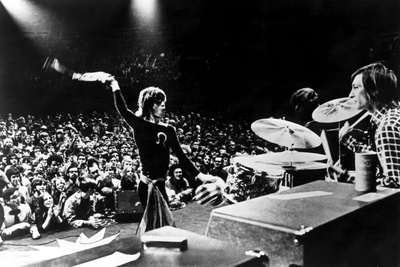 Gimme Shelter, Mick Jagger, Charlie Watts, 1970 Photo