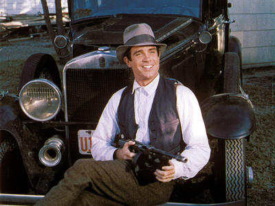 Bonnie and Clyde, Warren Beatty, 1967 Photo