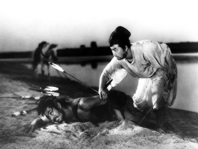 Rashomon, Toshiro Mifune, 1950 Photo