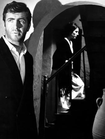 Zorba the Greek, from Left, Alan Bates, Irene Papas, 1964 Photo