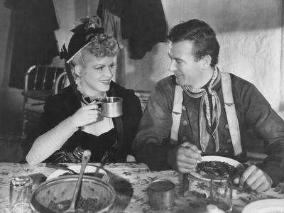 Stagecoach, from Left: Claire Trevor, John Wayne, 1939 Photo