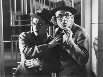 The Nitwits, from Left: Bert Wheeler, Robert Woolsey, 1935 Photo