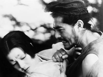 Rashomon, from Left, Machiko Kyo, Toshiro Mifune, 1950 Photo