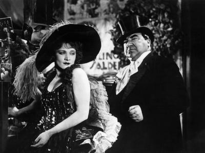 The Blue Angel, Marlene Dietrich, Kurt Gerron, 1930 Photo
