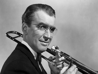 The Glenn Miller Story, James Stewart, 1954 Photo