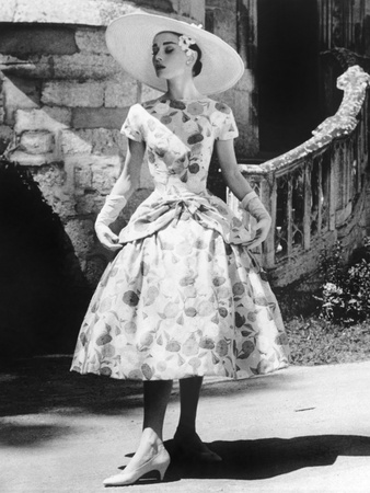 Funny Face, Audrey Hepburn (Wearing a Dress by Givenchy), 1957 Photo