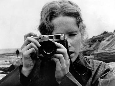 Persona, Liv Ullmann (Holding Leica Camera), 1966 Photo