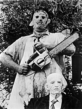 The Texas Chainsaw Massacre, Gunnar Hansen, 1974 Photo