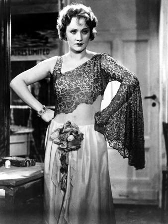 The Blue Angel, Marlene Dietrich, 1930 Photo