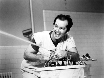 One Flew over the Cuckoo's Nest, Jack Nicholson, 1975 Photo