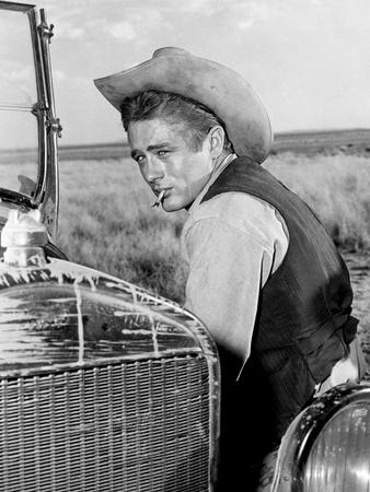 Giant, James Dean, 1956 Photo