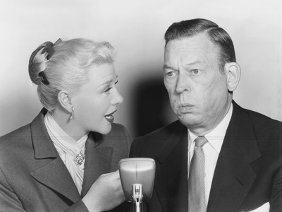 We'Re Not Married!, from Left: Ginger Rogers, Fred Allen, 1952 Photo