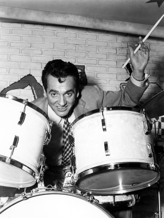 The Glenn Miller Story, Gene Krupa, 1954 Photo