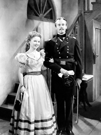 Fort Apache, Shirley Temple, Henry Fonda, 1948 Photo