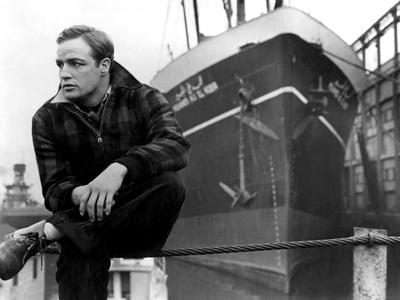 On the Waterfront, Marlon Brando, 1954 Photo