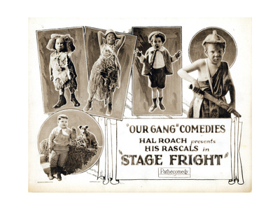 Stage Fright, 1923 Giclee Print