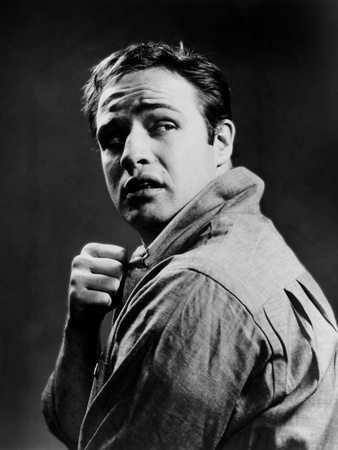 On the Waterfront, Marlon Brando, 1954 Photo