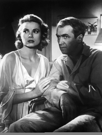 Rear Window, Grace Kelly, James Stewart, 1954 Photo