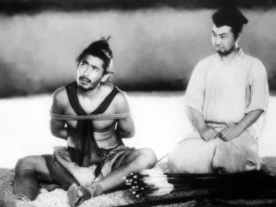 Rashomon, from Left: Toshiro Mifune, Daisuke Kato, 1950 Photo