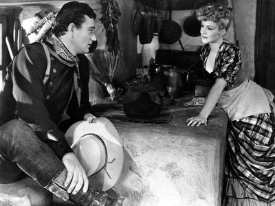 Stagecoach, John Wayne, Claire Trevor, 1939 Photo