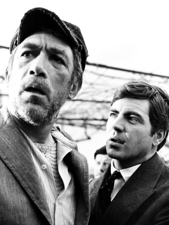 Zorba the Greek, from Left, Anthony Quinn, Alan Bates, 1964 Photo