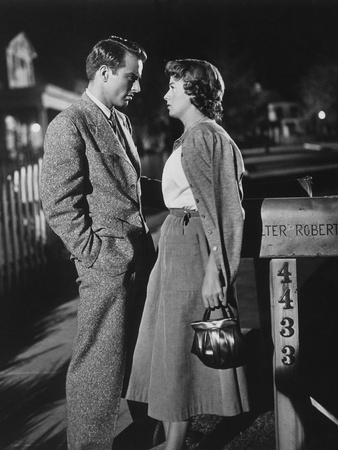A Place in the Sun, Montgomery Clift, Shelley Winters, 1951 Photo