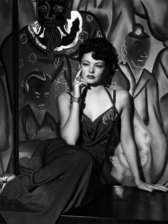 The Shanghai Gesture, Gene Tierney, 1941 Photo