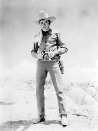 Riders of the Frontier, Tex Ritter, 1939 Photo