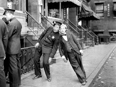 The Cameraman, Harry Gribbon, Buster Keaton, 1928 Photo