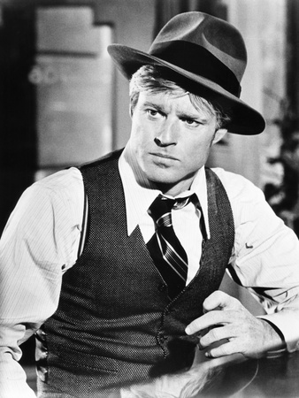 The Sting, Robert Redford, 1973 Photo