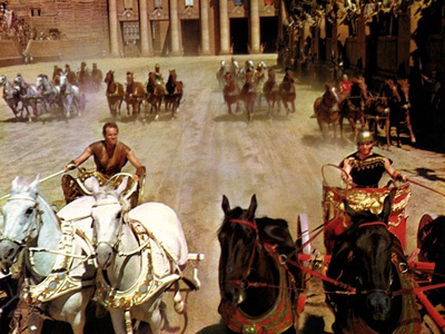 Ben-Hur, Charlton Heston, Stephen Boyd, 1959 Photo