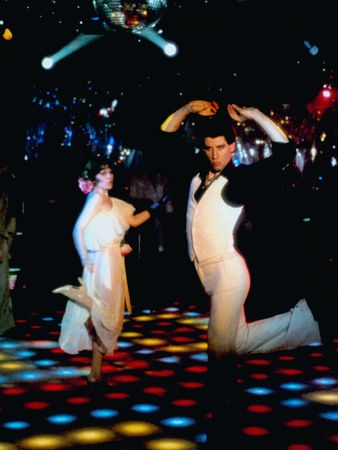 Saturday Night Fever, John Travolta (Front), 1977 Photo