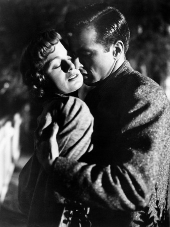 A Place in the Sun, Shelley Winters, Montgomery Clift, 1951 Photo