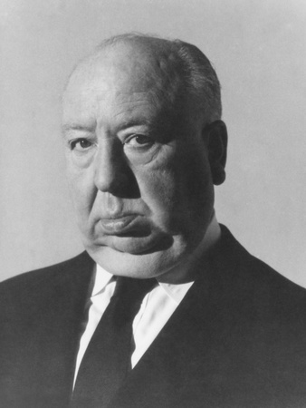 Alfred Hitchcock, 1960s Photo!