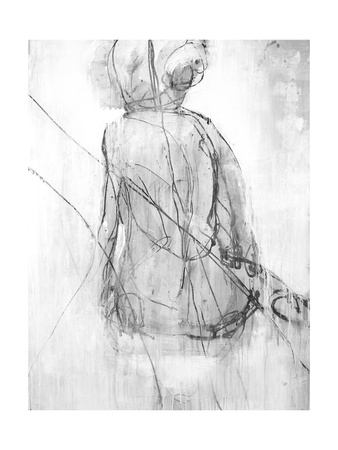 Shadow Silhouette II Giclee Print by Joshua Schicker