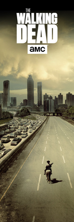 The Walking Dead- Dead City Print