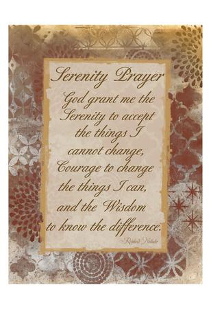 Godly Serenity Prints