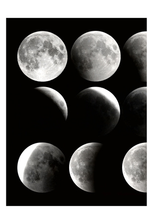 Moon Phase 1 Poster