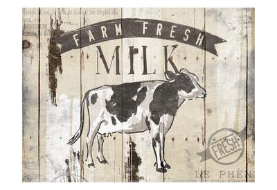 Farm Fresh Milk Horizontal Prints