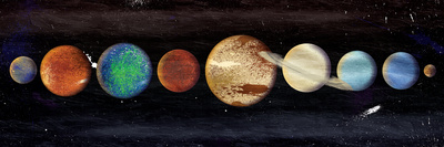 Planets In The Galaxy Posters