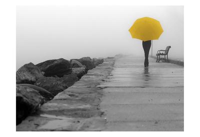 Walking In The Rain Prints