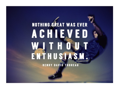Enthusiasm Posters by  Sports Mania