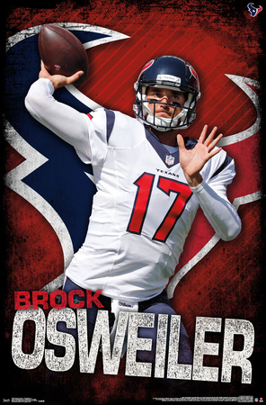 NFL: Houston Texans- Brock Osweiler 16 Prints