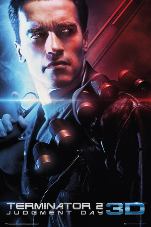 The Terminator: Judgement Day 3D One Sheet Print