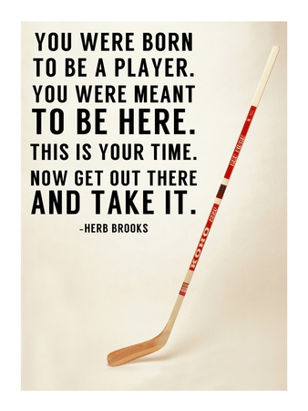 You Were Born To Be A Player Print by  Sports Mania