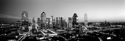 Night, Dallas, Texas, USA Photographic Print by  Panoramic Images