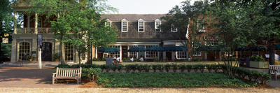 Shops at Merchants Square, Duke of Gloucester Street, Colonial Williamsburg, Williamsburg Photographic Print by  Panoramic Images